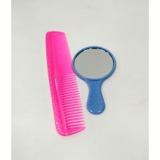 Comb & Mirror with Handle Set - Return Gift