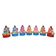 Vinayagar Music Set - Clay